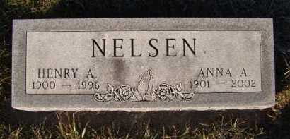 NELSEN, ANNA A - Moody County, South Dakota | ANNA A NELSEN - South Dakota Gravestone Photos