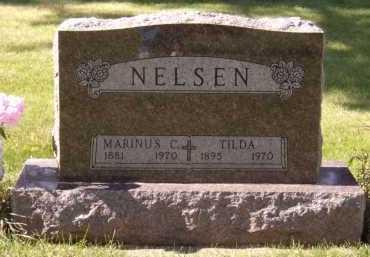 NELSEN, MARINUS C - Moody County, South Dakota   MARINUS C NELSEN - South Dakota Gravestone Photos