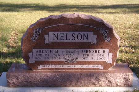 NELSON, BERNARD B - Moody County, South Dakota | BERNARD B NELSON - South Dakota Gravestone Photos