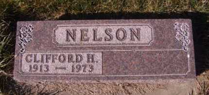 NELSON, CLIFFORD H. - Moody County, South Dakota   CLIFFORD H. NELSON - South Dakota Gravestone Photos