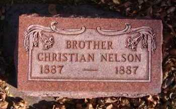 NELSON, CHRISTIAN - Moody County, South Dakota | CHRISTIAN NELSON - South Dakota Gravestone Photos