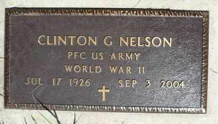NELSON, CLINTON G. (WWII) - Moody County, South Dakota | CLINTON G. (WWII) NELSON - South Dakota Gravestone Photos