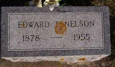NELSON, EDWARD T - Moody County, South Dakota | EDWARD T NELSON - South Dakota Gravestone Photos
