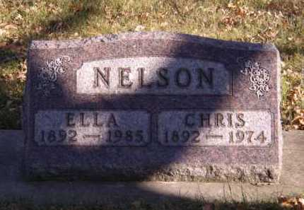 NELSON, ELLA - Moody County, South Dakota | ELLA NELSON - South Dakota Gravestone Photos