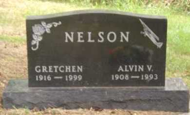 NELSON, ALVIN V. - Moody County, South Dakota | ALVIN V. NELSON - South Dakota Gravestone Photos