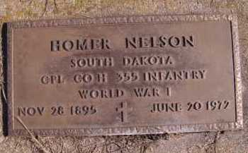 NELSON, HOMER (MILITARY) - Moody County, South Dakota | HOMER (MILITARY) NELSON - South Dakota Gravestone Photos