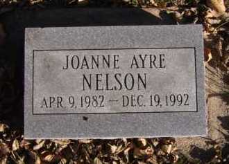 NELSON, JOANNE AYRE - Moody County, South Dakota | JOANNE AYRE NELSON - South Dakota Gravestone Photos