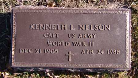 NELSON, KENNETH L (MILITARY) - Moody County, South Dakota | KENNETH L (MILITARY) NELSON - South Dakota Gravestone Photos