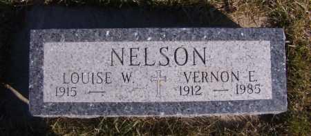 NELSON, LOUISE W - Moody County, South Dakota | LOUISE W NELSON - South Dakota Gravestone Photos