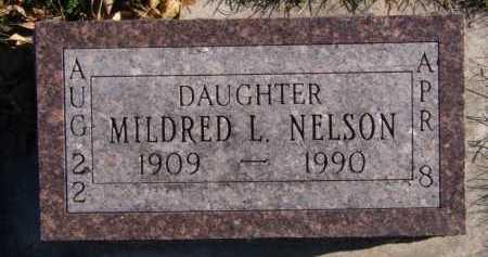 NELSON, MILDRED L - Moody County, South Dakota | MILDRED L NELSON - South Dakota Gravestone Photos