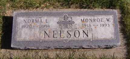 NELSON, MONROE W - Moody County, South Dakota | MONROE W NELSON - South Dakota Gravestone Photos
