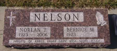 NELSON, NORLAN T - Moody County, South Dakota | NORLAN T NELSON - South Dakota Gravestone Photos