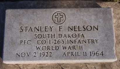 NELSON, STANLEY F - Moody County, South Dakota   STANLEY F NELSON - South Dakota Gravestone Photos