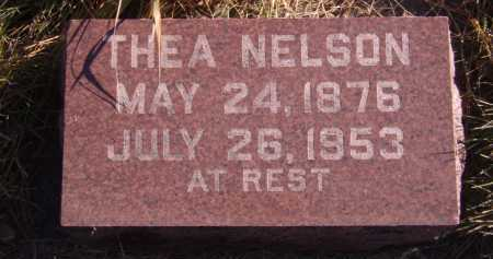 NELSON, THEA - Moody County, South Dakota | THEA NELSON - South Dakota Gravestone Photos