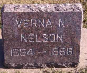 NELSON, VERNA N - Moody County, South Dakota | VERNA N NELSON - South Dakota Gravestone Photos