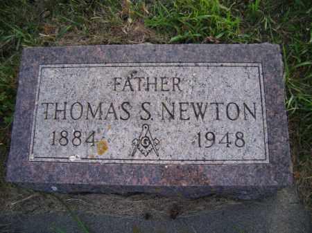 NEWTON, THOMAS S - Moody County, South Dakota | THOMAS S NEWTON - South Dakota Gravestone Photos