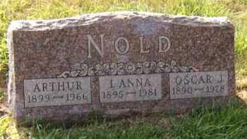 NOLD, L ANNA - Moody County, South Dakota | L ANNA NOLD - South Dakota Gravestone Photos