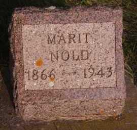 NOLD, MARIT - Moody County, South Dakota | MARIT NOLD - South Dakota Gravestone Photos