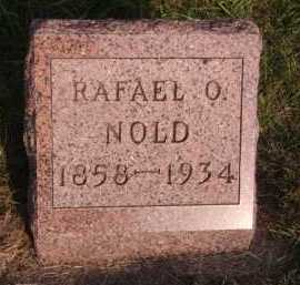 NOLD, RAFAEL O - Moody County, South Dakota | RAFAEL O NOLD - South Dakota Gravestone Photos