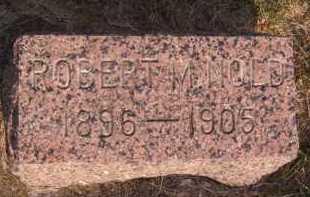 NOLD, ROBERT M - Moody County, South Dakota | ROBERT M NOLD - South Dakota Gravestone Photos