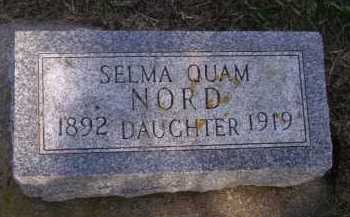 NORD, SELMA - Moody County, South Dakota | SELMA NORD - South Dakota Gravestone Photos