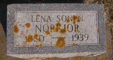 SONEN NORFJOR, LENA - Moody County, South Dakota | LENA SONEN NORFJOR - South Dakota Gravestone Photos