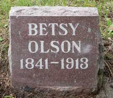 OLSON, BETSY - Moody County, South Dakota   BETSY OLSON - South Dakota Gravestone Photos