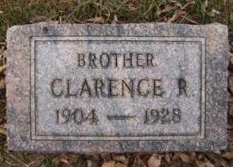 OLSON, CLARENCE R - Moody County, South Dakota   CLARENCE R OLSON - South Dakota Gravestone Photos