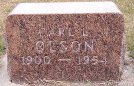 OLSON, CARL L - Moody County, South Dakota   CARL L OLSON - South Dakota Gravestone Photos