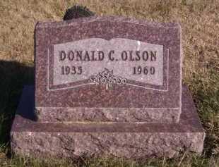 OLSON, DONALD C - Moody County, South Dakota | DONALD C OLSON - South Dakota Gravestone Photos