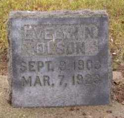 OLSON, EVELYN N - Moody County, South Dakota | EVELYN N OLSON - South Dakota Gravestone Photos