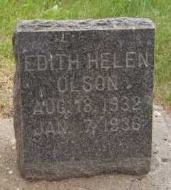 OLSON, EDITH HELEN - Moody County, South Dakota | EDITH HELEN OLSON - South Dakota Gravestone Photos