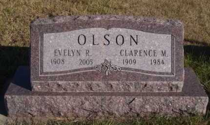 OLSON, CLARENCE M - Moody County, South Dakota | CLARENCE M OLSON - South Dakota Gravestone Photos