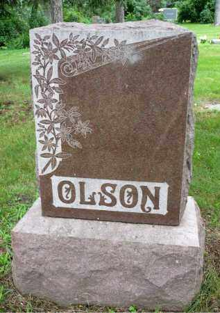 OLSON, FAMILY MARKER - Moody County, South Dakota   FAMILY MARKER OLSON - South Dakota Gravestone Photos