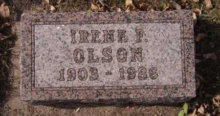 OLSON, IRENE F - Moody County, South Dakota | IRENE F OLSON - South Dakota Gravestone Photos