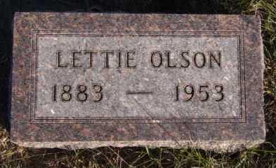 OLSON, LETTIE - Moody County, South Dakota   LETTIE OLSON - South Dakota Gravestone Photos