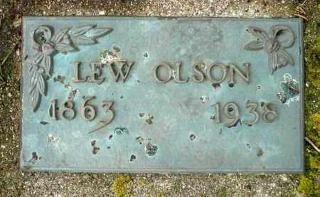 OLSON, LEW - Moody County, South Dakota | LEW OLSON - South Dakota Gravestone Photos