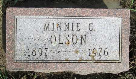 OLSON, MINNIE C. - Moody County, South Dakota | MINNIE C. OLSON - South Dakota Gravestone Photos