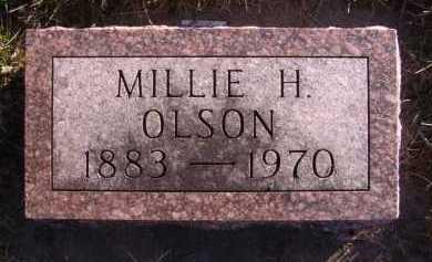 OLSON, MILLIE H - Moody County, South Dakota | MILLIE H OLSON - South Dakota Gravestone Photos