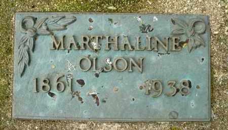 OLSON, MARTHALINE - Moody County, South Dakota | MARTHALINE OLSON - South Dakota Gravestone Photos