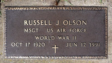OLSON, RUSSELL JAMES (MILITARY) - Moody County, South Dakota | RUSSELL JAMES (MILITARY) OLSON - South Dakota Gravestone Photos