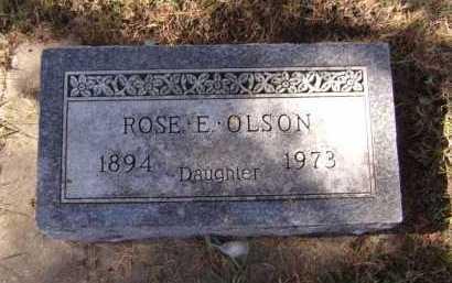 OLSON, ROSE E - Moody County, South Dakota | ROSE E OLSON - South Dakota Gravestone Photos