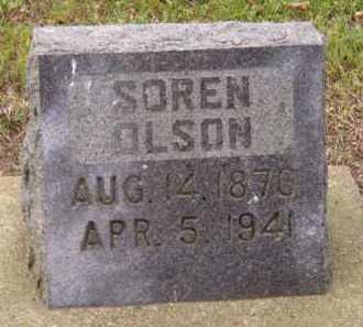 OLSON, SOREN - Moody County, South Dakota | SOREN OLSON - South Dakota Gravestone Photos