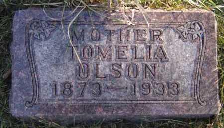 OLSON, TOMELIA - Moody County, South Dakota | TOMELIA OLSON - South Dakota Gravestone Photos