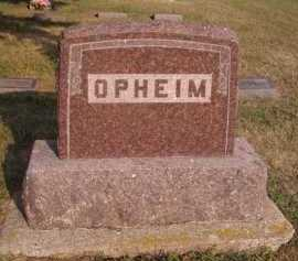 OPHEIM, FAMILY - Moody County, South Dakota | FAMILY OPHEIM - South Dakota Gravestone Photos