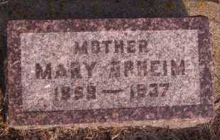 OPHEIM, MARY - Moody County, South Dakota | MARY OPHEIM - South Dakota Gravestone Photos