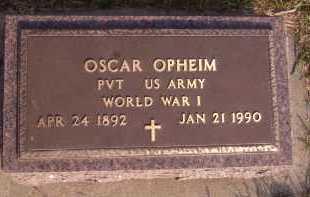 OPHEIM, OSCAR - Moody County, South Dakota   OSCAR OPHEIM - South Dakota Gravestone Photos