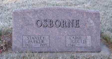 OSBORNE, STANLEY PARKER - Moody County, South Dakota | STANLEY PARKER OSBORNE - South Dakota Gravestone Photos