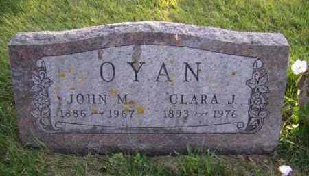 OYAN, CLARA J - Moody County, South Dakota | CLARA J OYAN - South Dakota Gravestone Photos