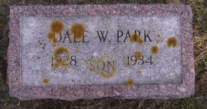 PARK, DALE W - Moody County, South Dakota | DALE W PARK - South Dakota Gravestone Photos